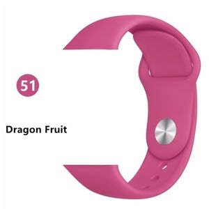 NEW DRAGON FRUIT Silicone Band For Apple Watch